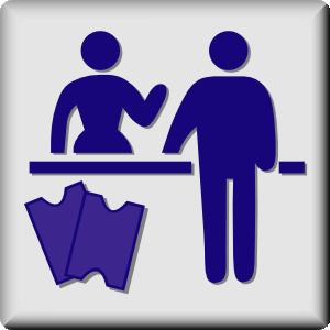 free vector Hotel Icon Concierge clip art