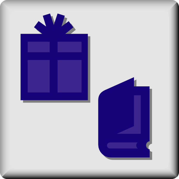 free vector Hotel Icon Gift And Book Shop clip art