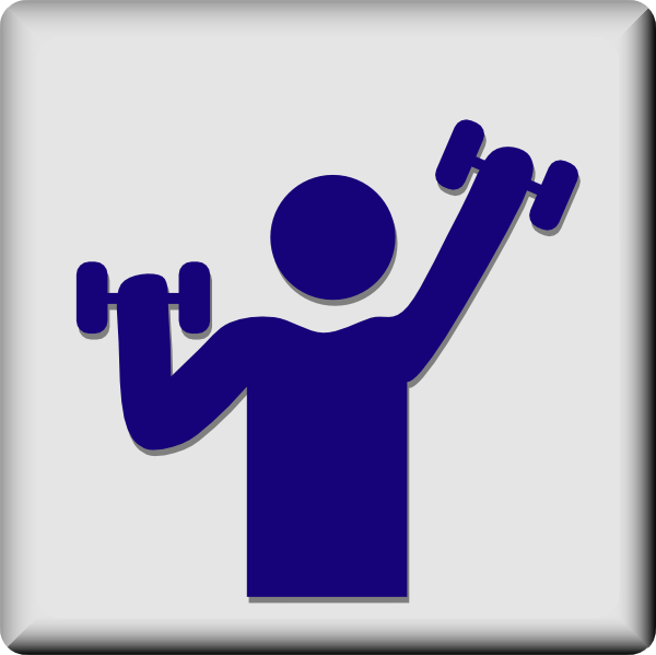 free vector Hotel Icon Gym clip art
