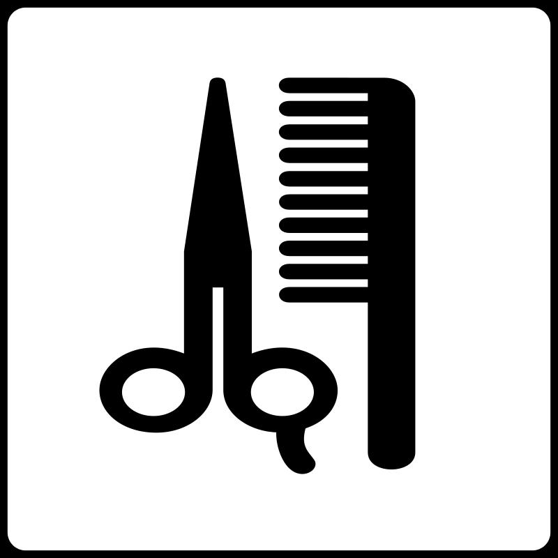free vector Hotel Icon Hair Salon