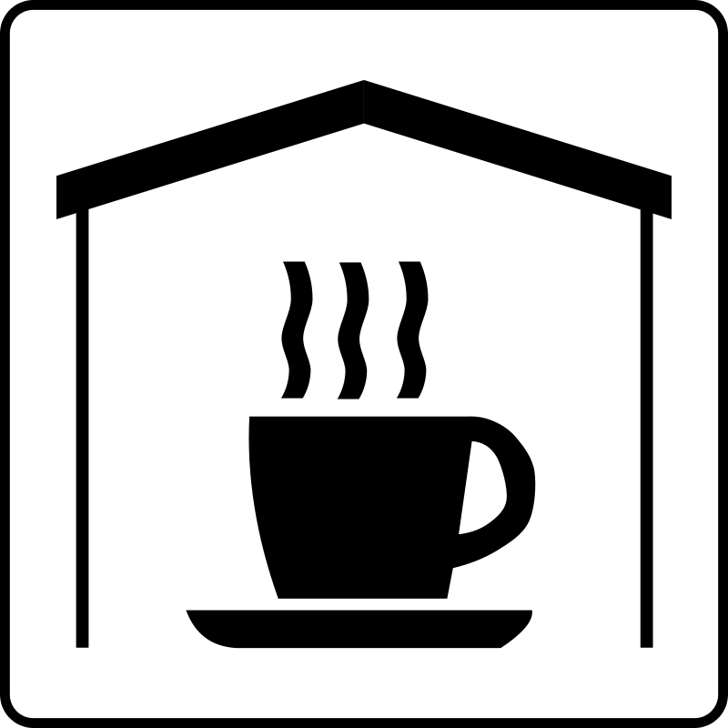 free vector Hotel Icon Has Coffee In Room