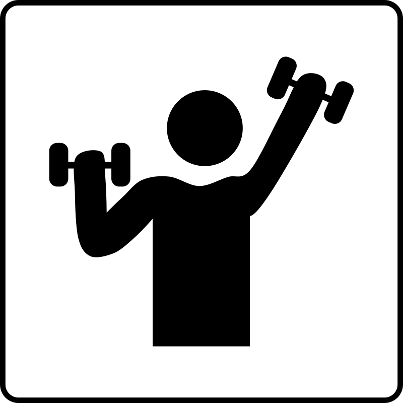 free vector Hotel Icon Has Gym