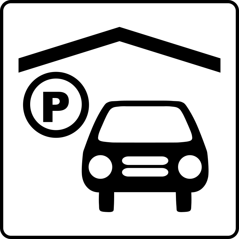 free vector Hotel Icon Has Indoor Parking