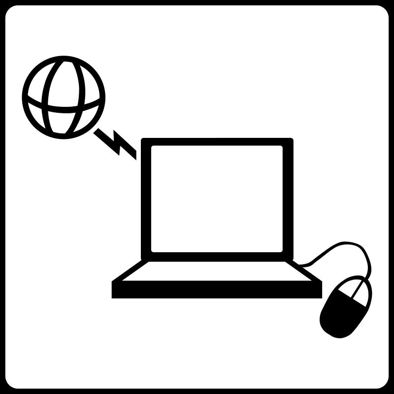 free vector Hotel Icon Has Internet