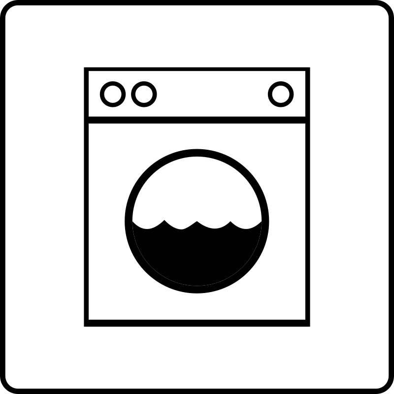 free vector Hotel Icon Has Laundry