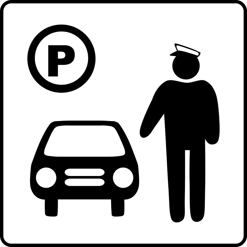 free vector Hotel Icon Has Parking Attendant