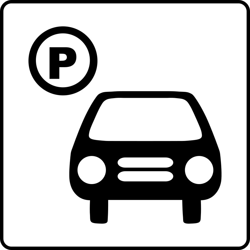 free vector Hotel Icon Has Parking