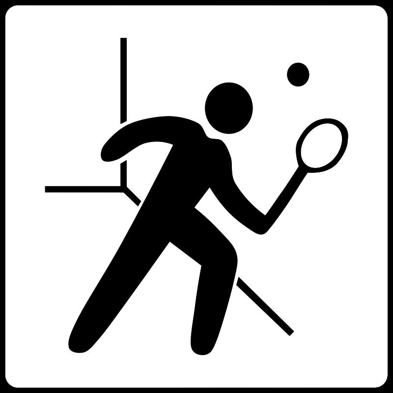 free vector Hotel Icon Has Squash Court