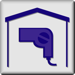 free vector Hotel Icon In Room Hair Dryer clip art