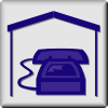 free vector Hotel Icon In Room Phone clip art