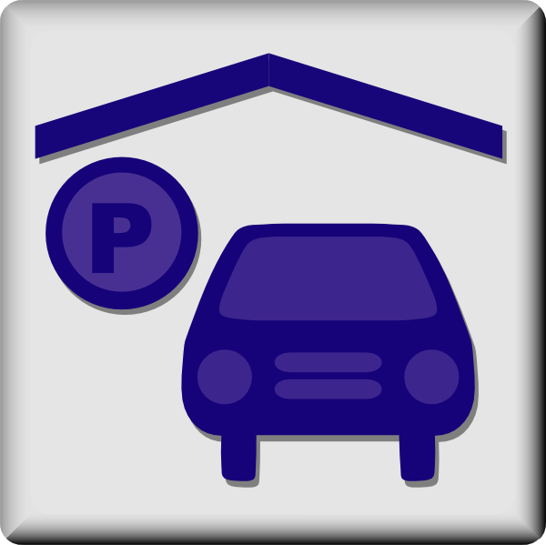 free vector Hotel Icon Indoor Parking clip art