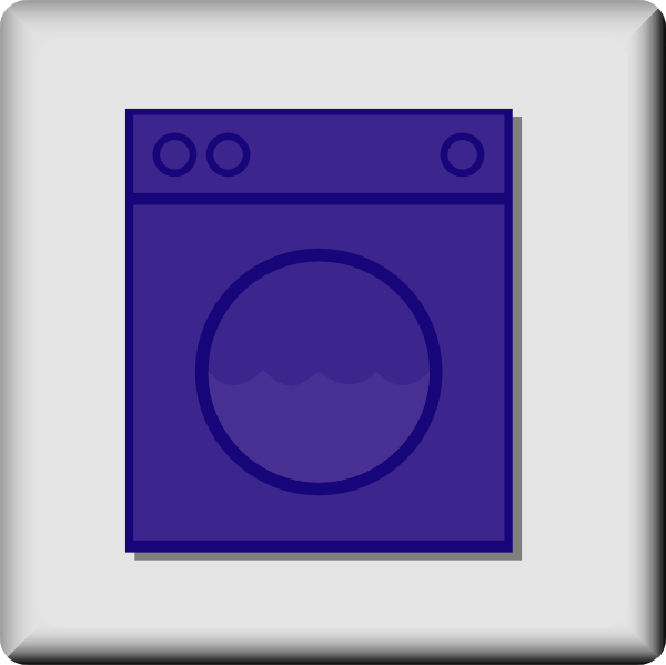 free vector Hotel Icon Laundromat clip art