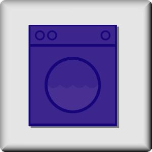 free vector Hotel Icon Laundromat clip art