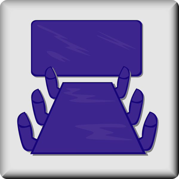 free vector Hotel Icon Meeting Room clip art