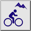 free vector Hotel Icon Mountain Biking clip art
