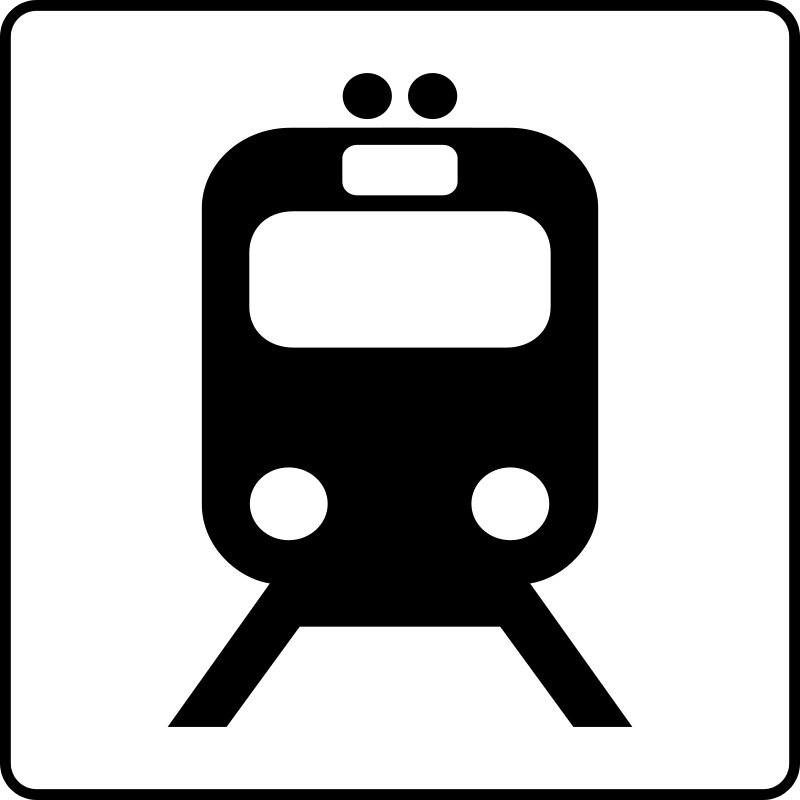 free vector Hotel Icon Near Transit Stop