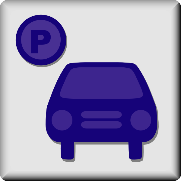 free vector Hotel Icon Parking Available clip art
