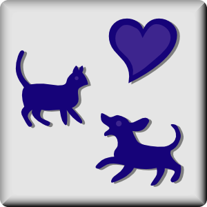 free vector Hotel Icon Pets Welcome clip art