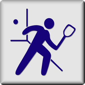 free vector Hotel Icon Racquetball clip art