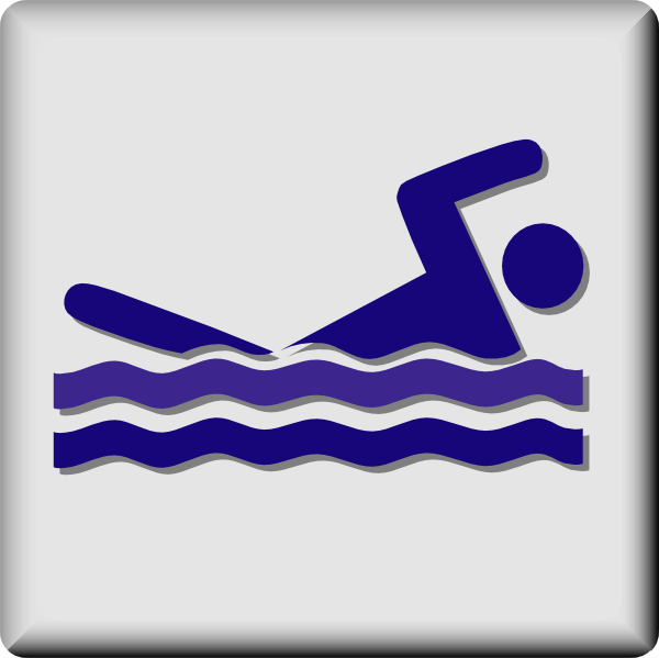 free vector Hotel Icon Swimming Pool clip art