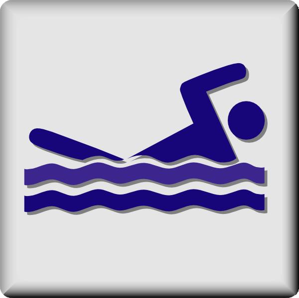 Hotel Icon Swimming Pool Clip Art Free Vector 4vector
