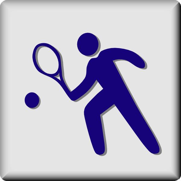 free vector Hotel Icon Tennis clip art