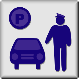 free vector Hotel Icon Valet Parking clip art