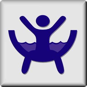 free vector Hotel Icon Waterslide clip art