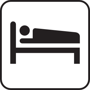 free vector Hotel Motel Sleeping Accomodation clip art