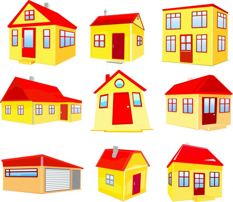 House building vector free vector 4vector Build a house online