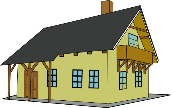 Building A New House Cartoon : House clip art free vector