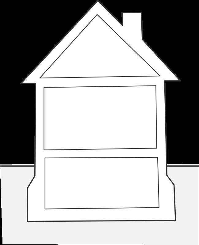 free vector House elevation / élévation maison