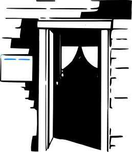 free vector House Home Door clip art