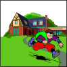free vector House Robbery clip art