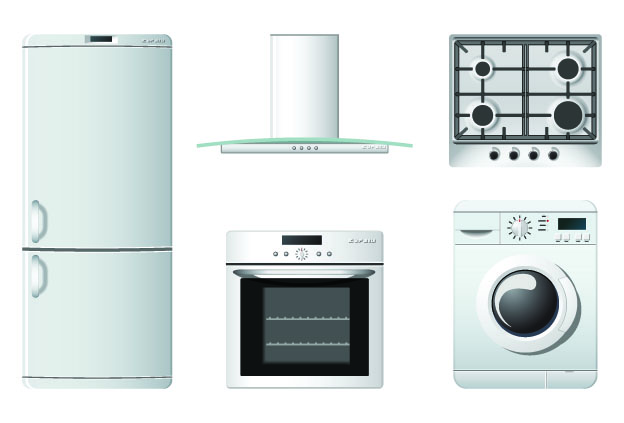free vector Household appliances icons vector