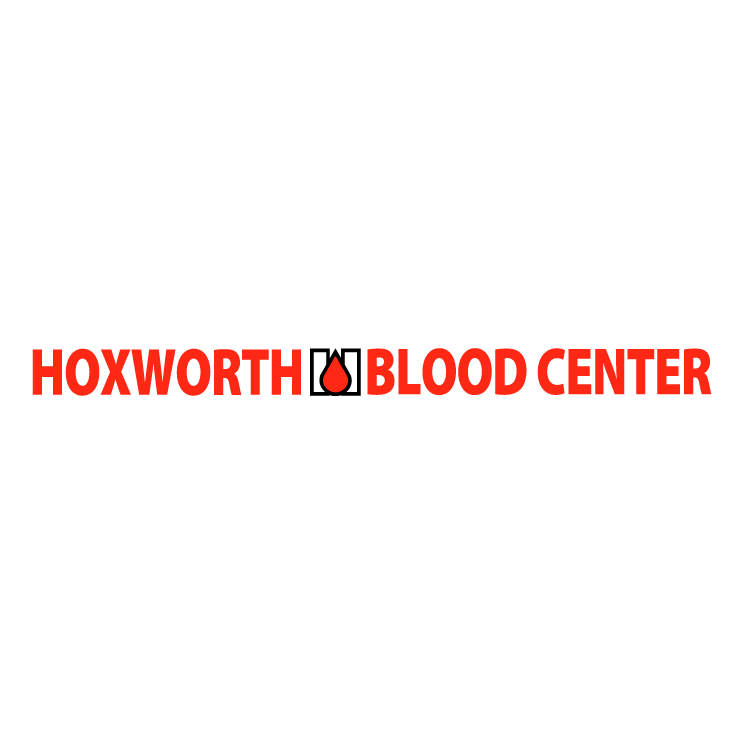 free vector Hoxworth blood center 0
