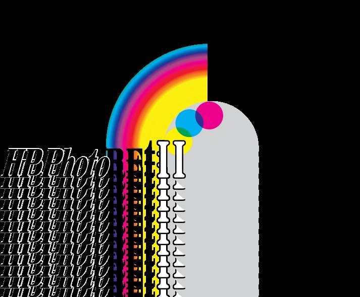 free vector HP PhotoRET2 logo