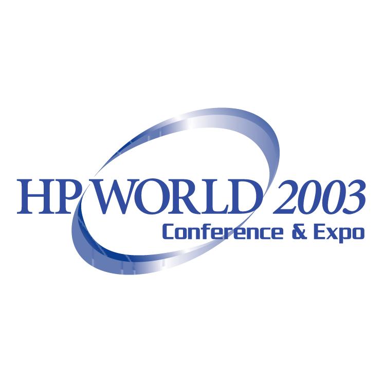 free vector Hp world 2003 0
