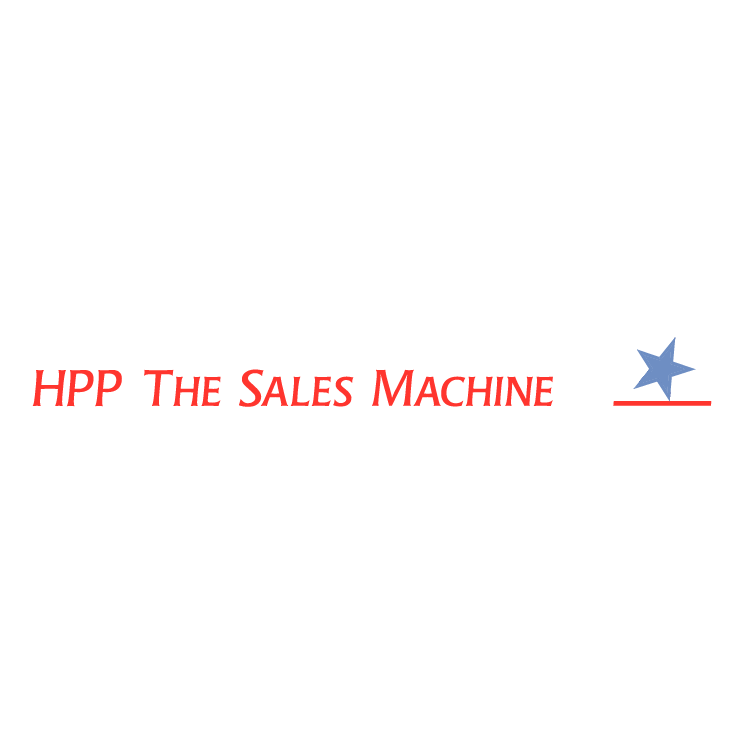 free vector Hpp the sales machine 0