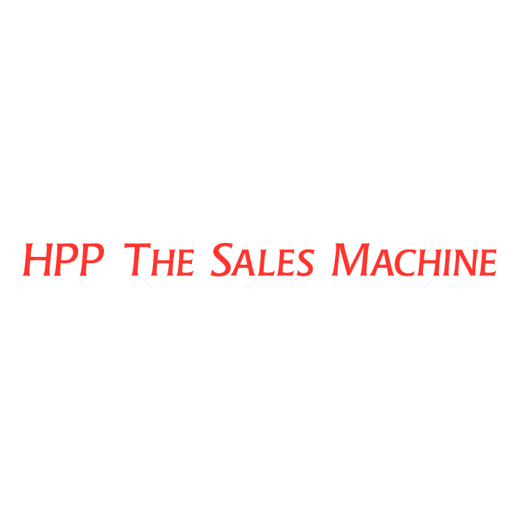 free vector Hpp the sales machine