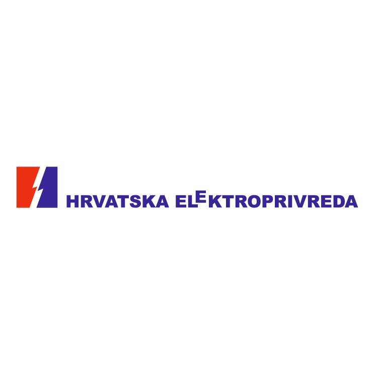 free vector Hrvatska elektroprivreda 0