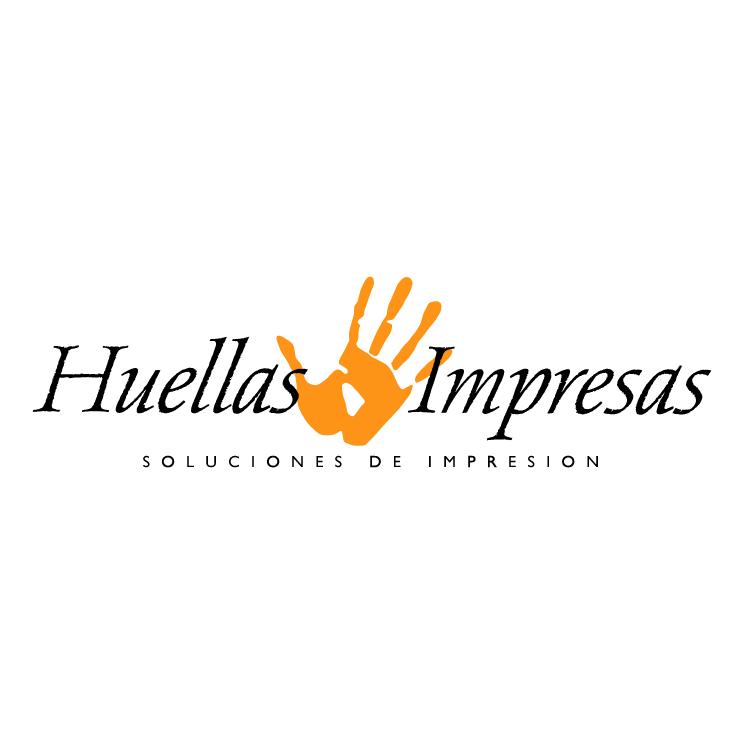 free vector Huellas impresas