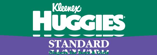 free vector Huggies standard logo
