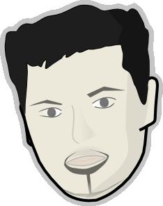 free vector Human Face clip art