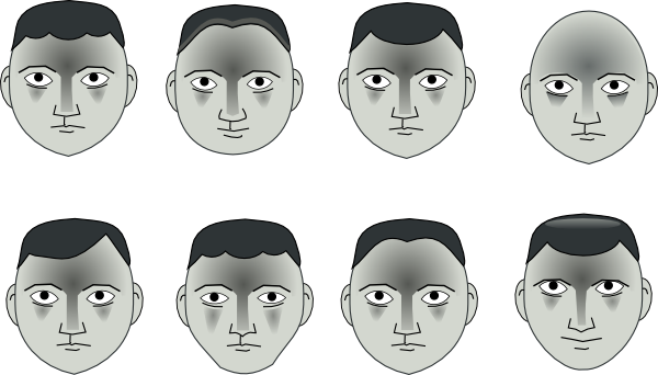 free vector Human People Cartoon Heads clip art