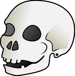 free vector Human Skull clip art