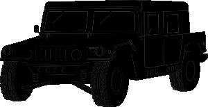 free vector Hummer clip art