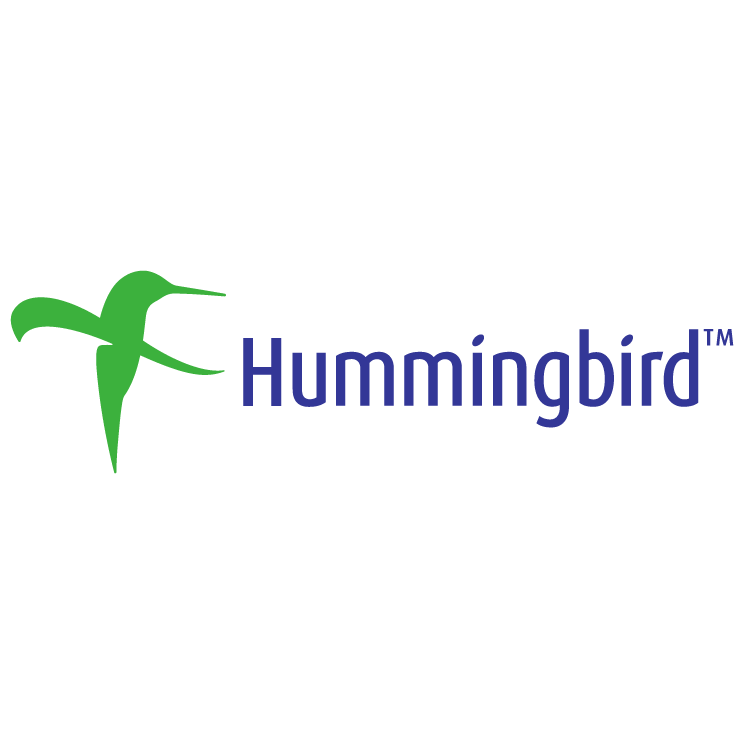 free vector Hummingbird