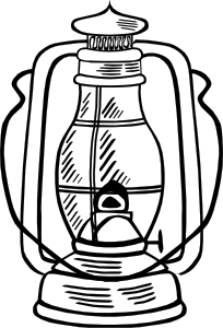free vector Hurricane Lamp clip art