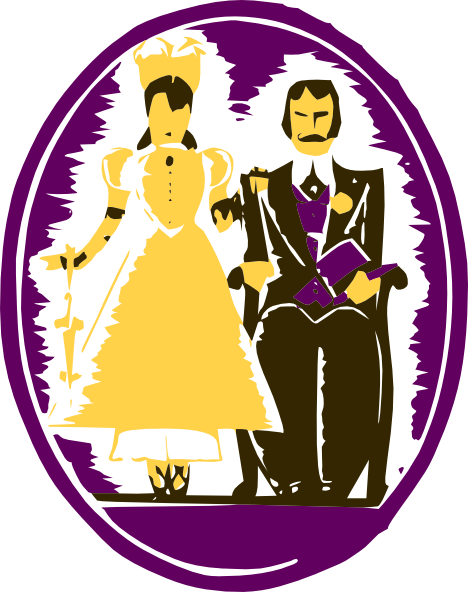 free vector Husband And Wife clip art